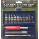 SE 16 Piece Hobby Knife Set RD3-HKS