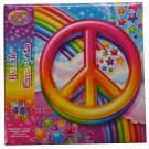 Lisa Frank Rainbow Peace Sign 48 Piece Jigsaw Puzzle  R5-PRP