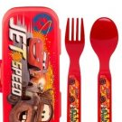Zak! Disney Pixar Cars Flatware Set for Kids (3 Pc: Go Pack) SR2-CAS