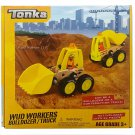 Tonka Bulldozer/Dump Truck Model Play Vehicles Building Kit (26-Piece) RA3-WWBT