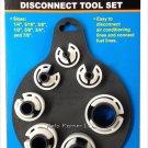 7-Piece Cal Hawk A/C Fuel Line Disconnect Tool Set RD2-14-LD