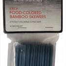 Farberware 8-Inch Food Colored Bamboo Skewers - 5128750 - Slate Blue R36-FB