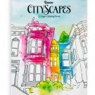 Darice Cityscapes Theme Coloring Books for Adults RJ4-2-DACS