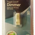 GE Dimmer, Single Pole, Toggle On/Off, Ivory 52131   R39-52131