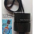 iCAT iBob Floatable Dri Cat Case Lanyard Black R14-DCL