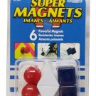 Master Magnetics Posting Magnets (Pack of 6) - R9-SMA