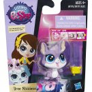 Littlest Pet Shop Bree Nibleson Mouse with cheese #3653 RA5-BNB
