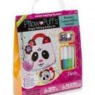 Darice®  Pillow Puffs Felt Panda Purse and Compact Mirror Kit  RA4-DA774