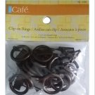 Kenney 14-Pack Clip Rings, Petit, Rust RC5-CR