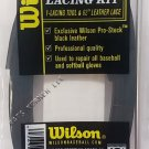 Wilson Pro Stock Glove Lacing Kit, Black R2-GLK