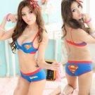 superman girls cotton bra set