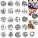 Nail Art Stamp Plate 50pcs