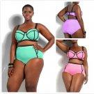 Plus Size Triangl Bikini Set