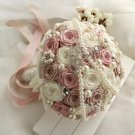 Artificial Satin Bouquet