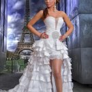 Sweetheart Ruffles Prom Dress