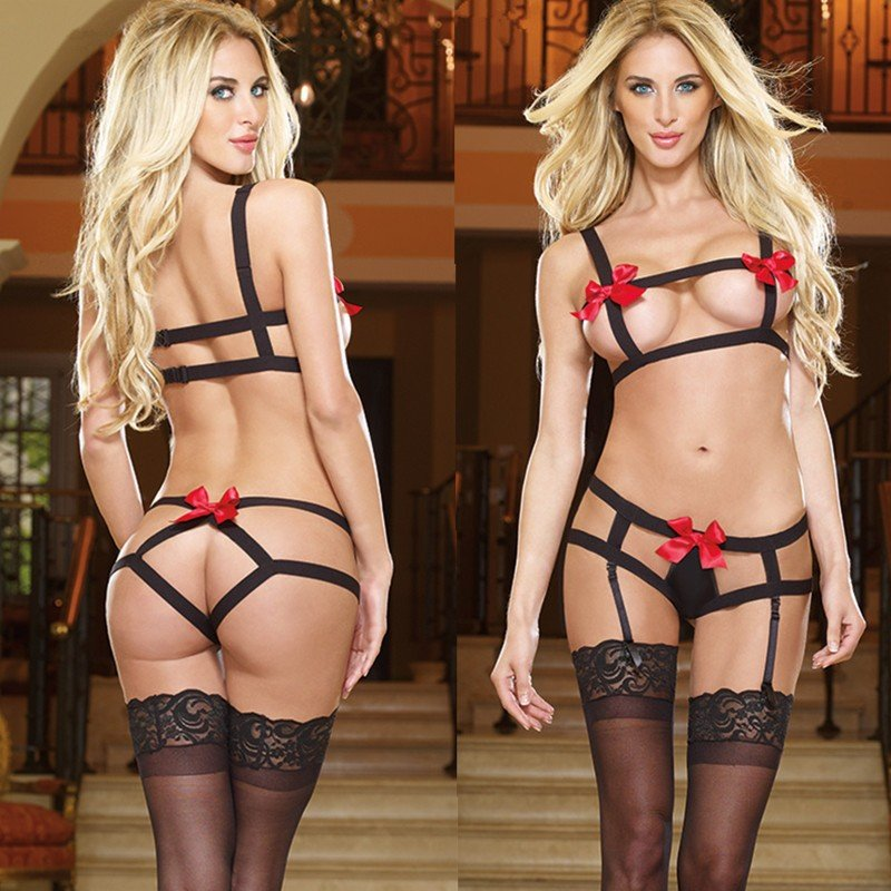 Black Bandage Set