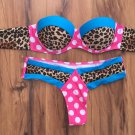 Leopard Print Thong Swimsuit
