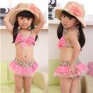 Girls Leopard Bikini
