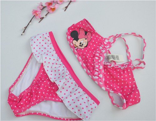 Minnie Polka Dot Bikini