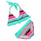 Stripe Print Bikini