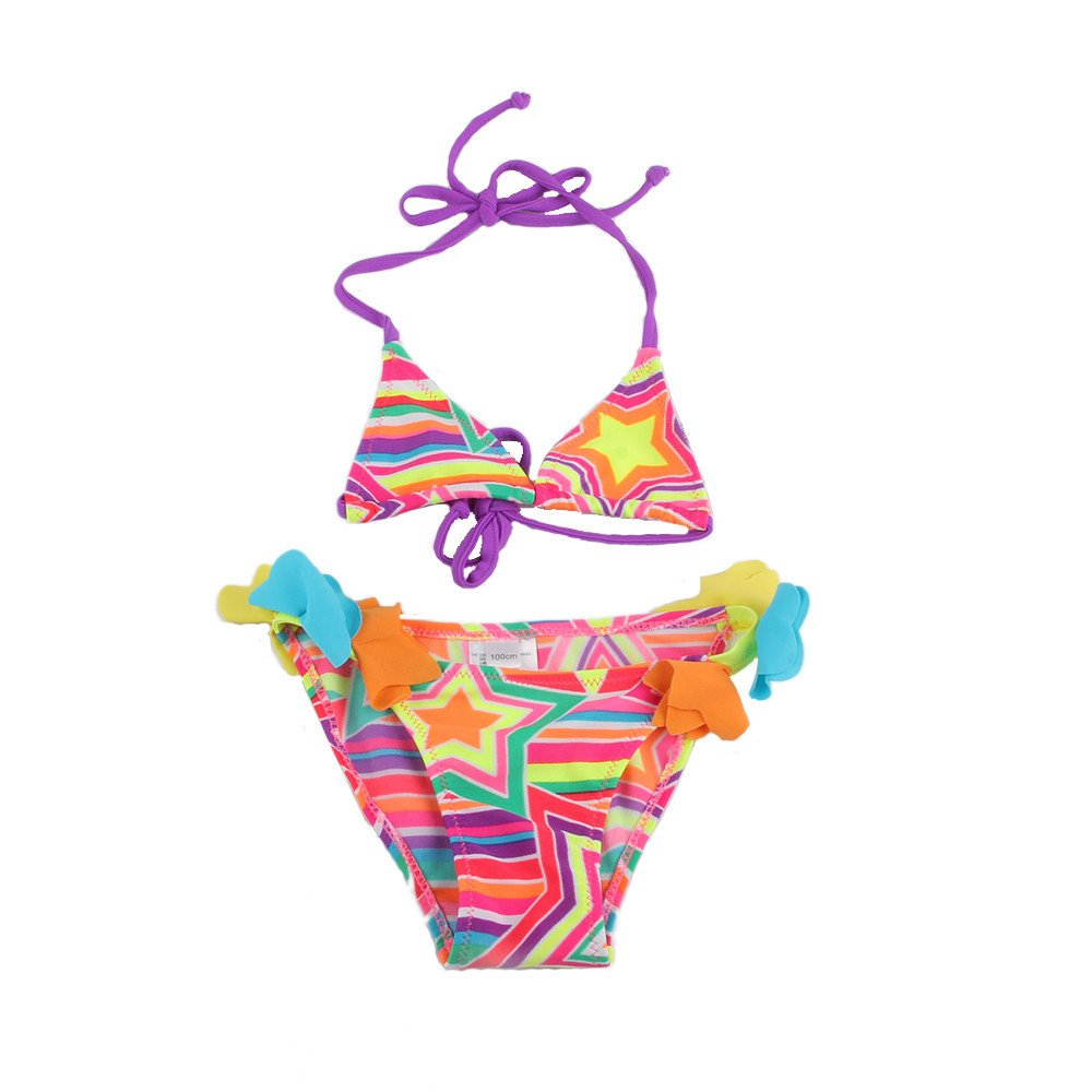 Girls Star Swimsuit