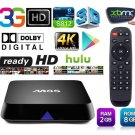 M8S KODI Fully Loaded Android 4.4 TV BOX Sports Media Player XBMC Quad Core 4K