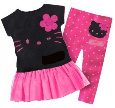 Hello kitty children Pant Set