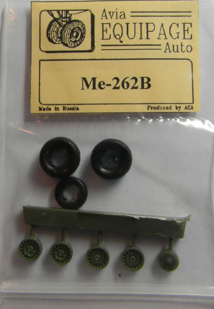 EQA72015 Equipage 1/72 Rubber Wheels forMesserschmitt Me-262B