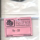 EQG72085 Equipage 1/72 Rubber Wheels for Tupolev Tu-22