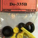EQA72063 Equipage 1/72 Rubber Wheels for Dornier Do-335B