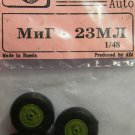 EQG48027 Equipage 1/48 Rubber Wheels for Mikoyan MiG-23ML
