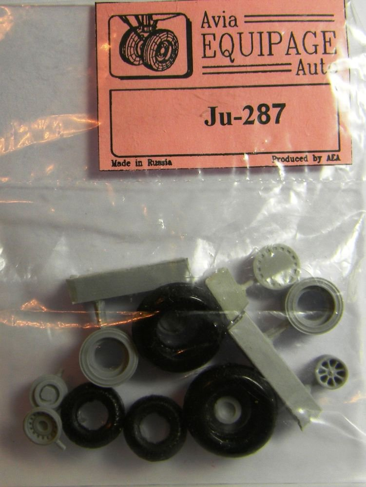 EQA72044 Equipage 1/72 Rubber Wheels forJunkers Ju-287