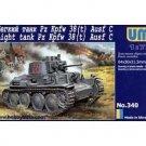 UMD-340 UM  1/72 Pz Kpfw 38(t) Ausf C German WW2 Light Tank model kit