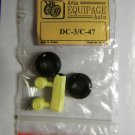 EQB72015 Equipage 1/72 Rubber Wheels for Douglas DC-3 / C-47 Skytrain aircraft