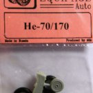 EQA72047 Equipage 1/72 Rubber Wheels for Heinkel He-70 / He-170