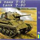 UMD-307  UM 1/72 T-80 Soviet WW2 Light Tank model kit