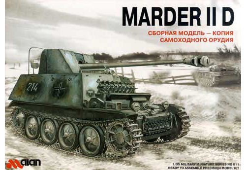 ALA-011 Alan 1/35 Marder IID model kit