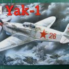 AMO-7280 1/72 Yakovlev Yak-1 (late version) Soviet WW2 Fighter model kit