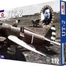 AMO-7251 1/72 Yakovlev UT-2 Soviet WW2 Trainer Aircraft model kit