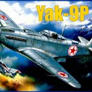 AMO-7286 1/72 Yakovlev Yak-9P Soviet WW2 and Korean War Fighter model kit