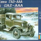 UMD-317 UM 1/72 GAZ-AAA Soviet WW2 Army Truck model kit