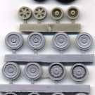 EQG48048 Equipage 1/48 Rubber Wheels for Sukhoi Su-24 Fencer Attack Aircraft