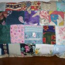 handcrafted decorative throw bed pillow Patchwork pillow item number 1