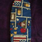 handcrafted grilling mitt oven mitt whimsical back to school  signs