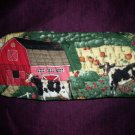 oven mitt cows in the country handmade
