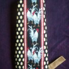 one handmade handcrafted grilling mitt oven mitt rooster and farm eggs 13 inches long