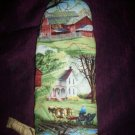 one handcrafted grilling mitt oven mitt the country life 14 inches long