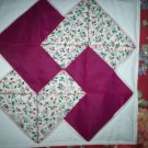 crib quilt card trick pattern 33 inches by 60 inches handmade