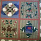 handmade baby quilt merry christmas 35 inches by 35 inches