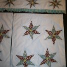 morning star window curtains 2 panel with valance handmade
